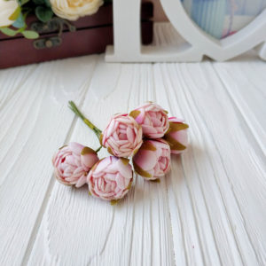 букет бутон розы фом розовый