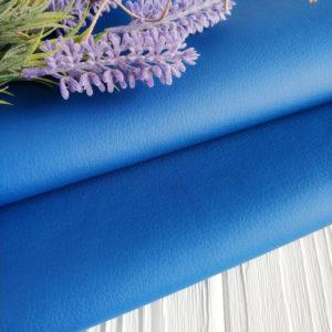 экокожа синяя матовая