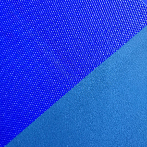 кант синий на экокоже