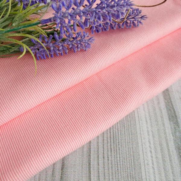 трикотаж кашкорсе розовый персик