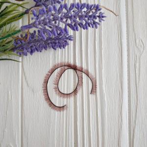 ресницы коричневый 20 см на 5 мм