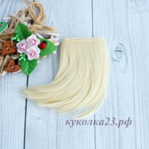 трессы подкрученные 10см блондин №88