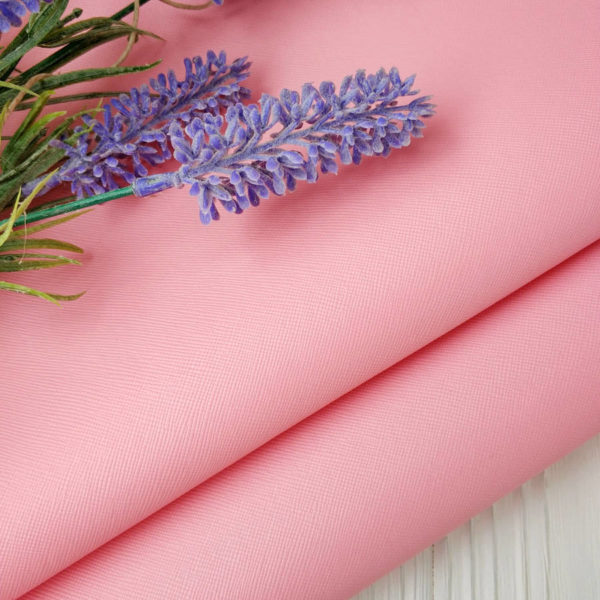 кожзам фактурный розовый