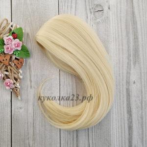 парик для кукол блондин №88