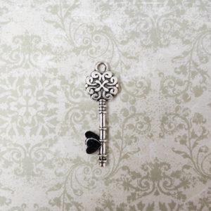 подвеска ключ серебро