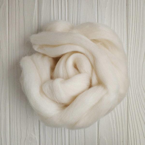 шерсть для валяния белый 205-2