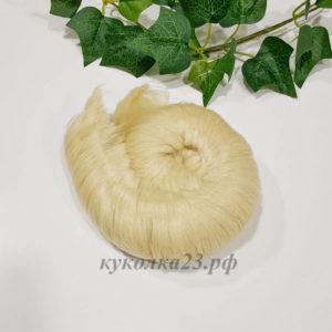 трессы прямые 5см блондин