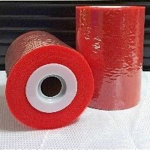 фатин рулонный красный