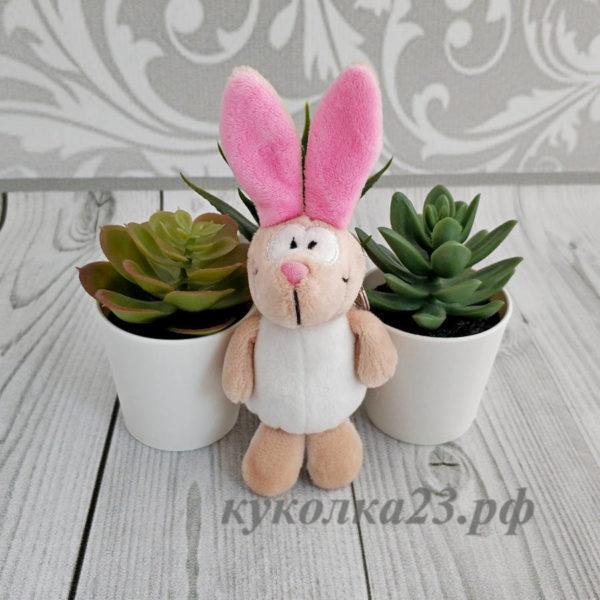 """игрушка NICI """"Заяц с розовыми ушками"""""""