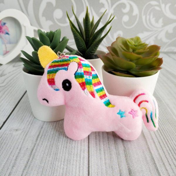 игрушка Единорог розовый