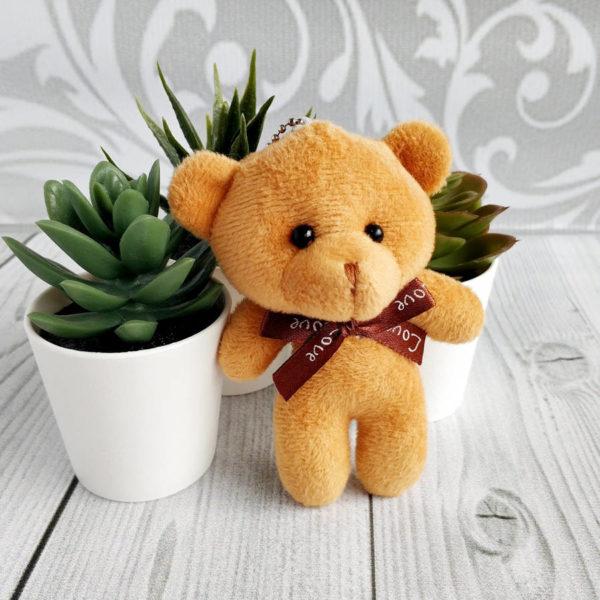 игрушка Мишка 11см коричневый