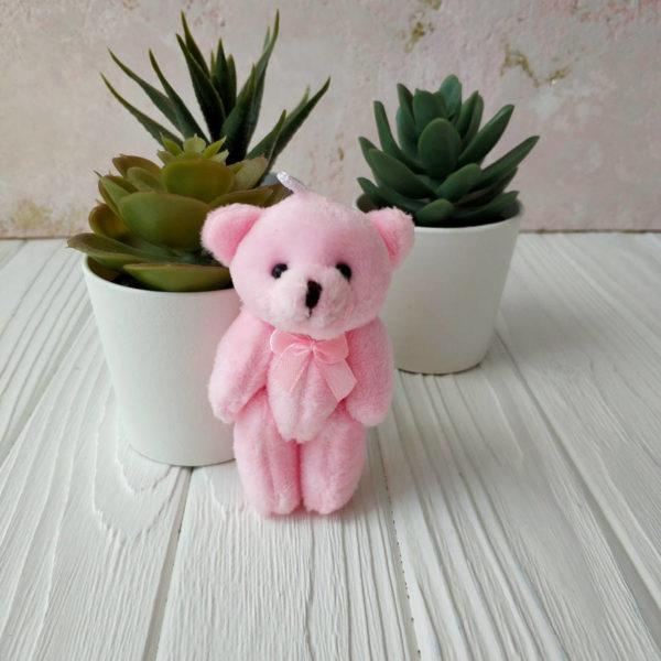 игрушка Мишка 8см розовый