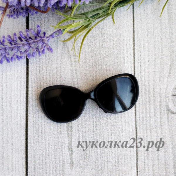 очки пластиковые черные