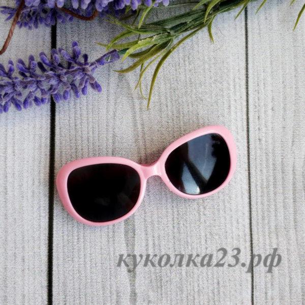 очки пластиковые розовые