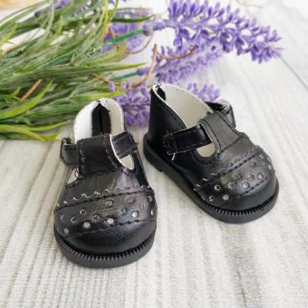 сандалики 6,5см черные