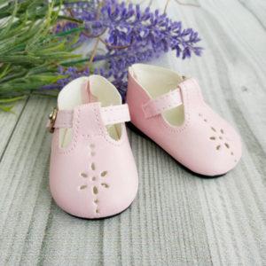 сандалики 6,7см розовые