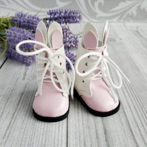 сапоги-зайки 6,5см розовые