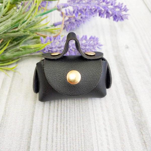 сумка малая на кнопке черная
