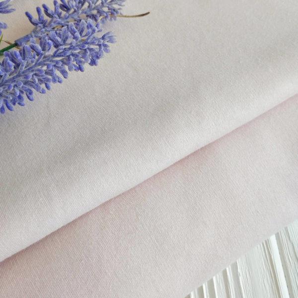 трикотаж интерлок оттенок светло-телесный (фарфор)