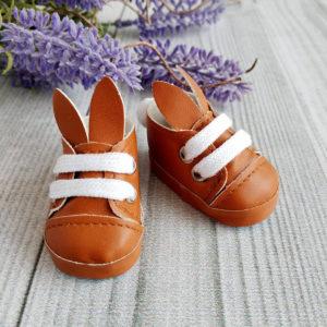 туфли-зайки 5см коричневые