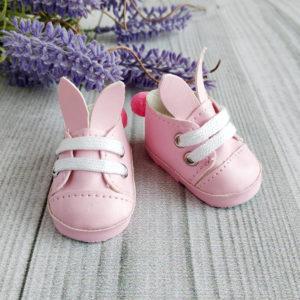 туфли-зайки 5см розовые