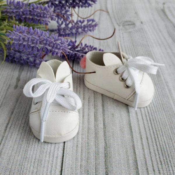 туфли-зайки 7см белые