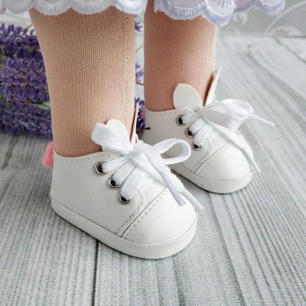 туфли-зайки 7см белые демо