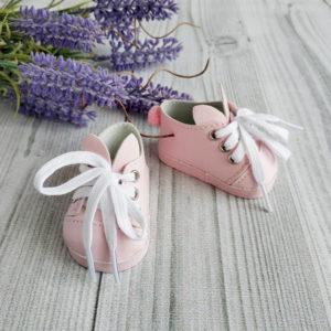 туфли-зайки 7см розовые