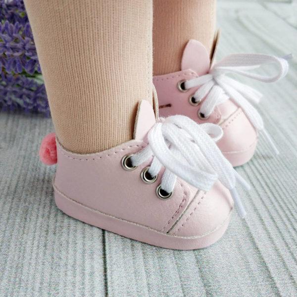туфли-зайки 7см розовые демо