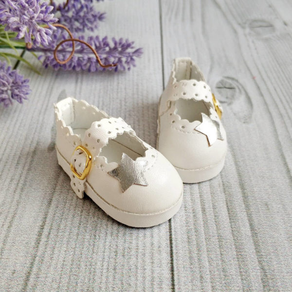 "туфли ""Звезда"" 6,5см белые"