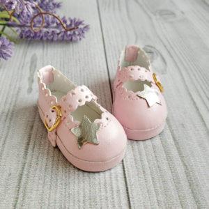 """туфли """"Звезда"""" 6,5см розовые"""
