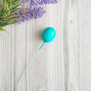 воздушный шарик бирюзовый
