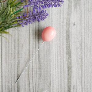 воздушный шарик персиковый