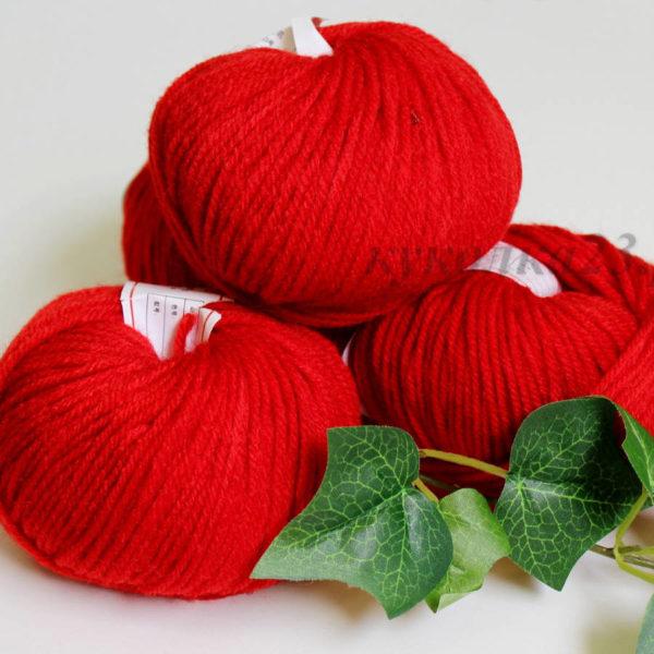 пряжа Fashion Acril красный №24