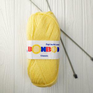пряжа NAKO BONBON CLASSIC светло-желтый №98210