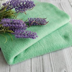 флис зеленый мятный