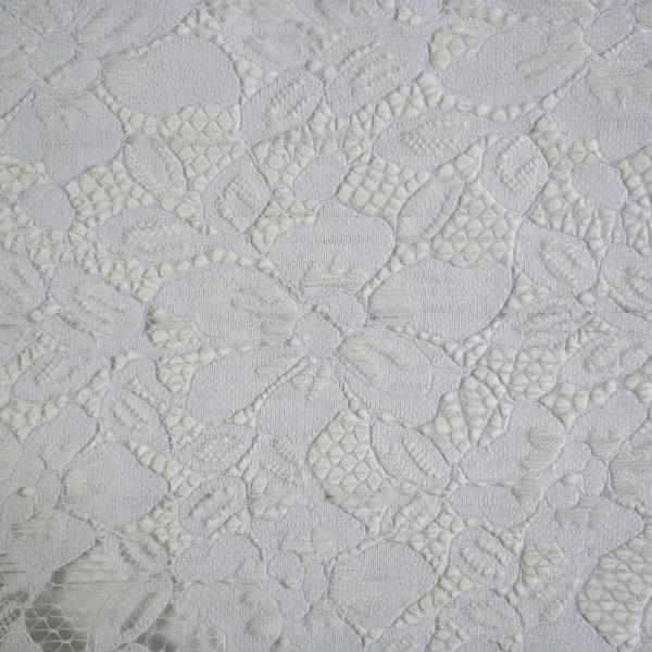кружево крупный цветок белый2