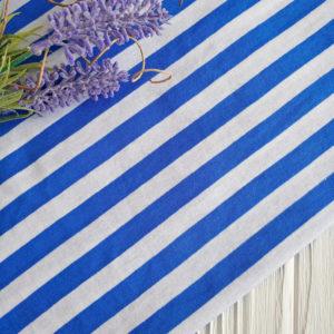 кулир тельняшка бело-синий