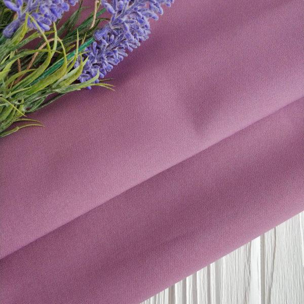ткань костюмная барби лиловая
