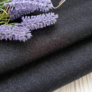 трикотаж кашмира с люрексом черный