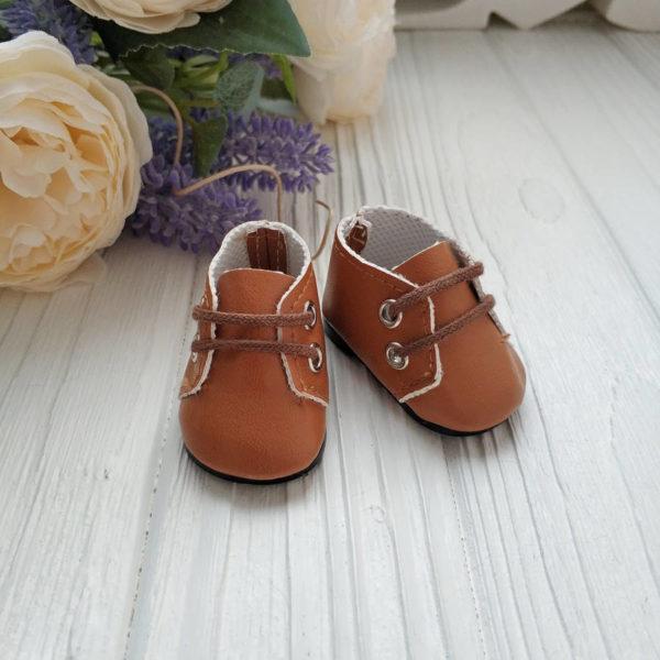 ботинки 5см коричневые