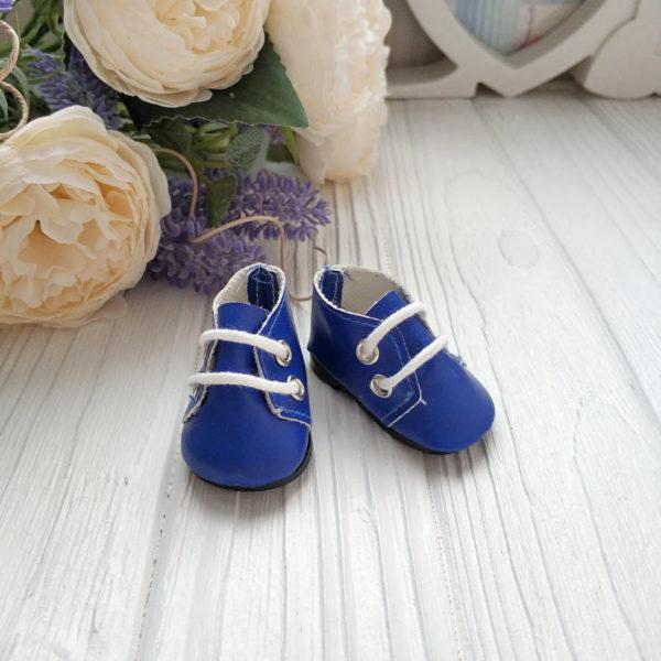 ботинки 5см синие