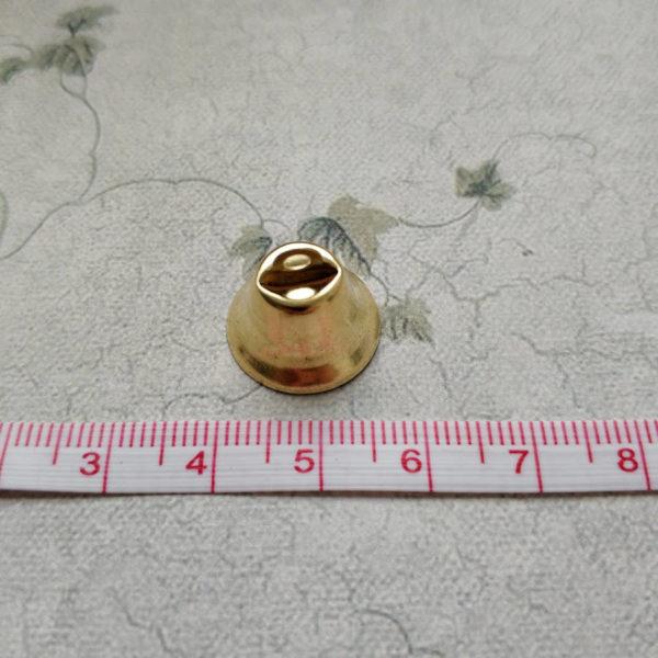колокольчик золото 1,5см с линейкой