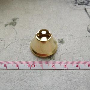 колокольчик золото 2.5см с линейкой