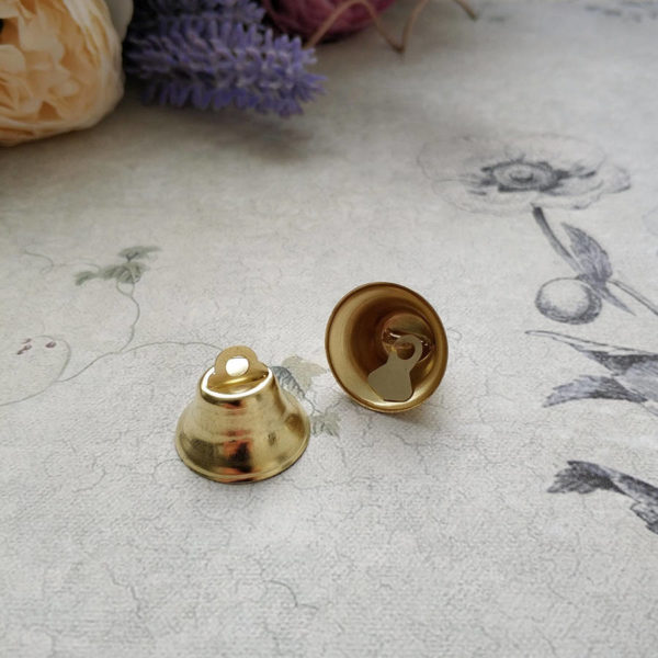 колокольчик золото 2см