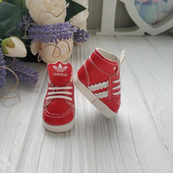 кроссовки бренд красные2