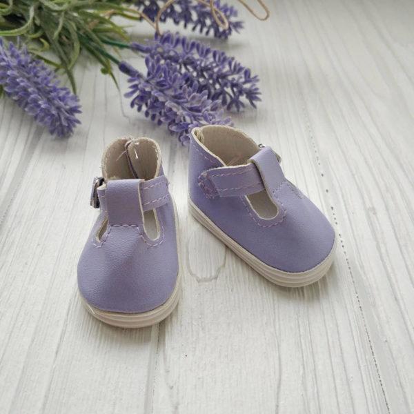 сандалии 5см сиреневые