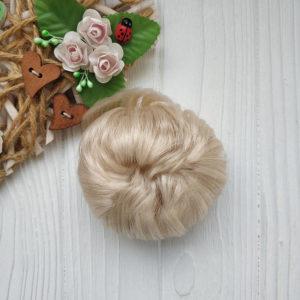 трессы прямые 5см жемчужный блондин №3