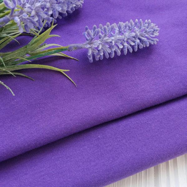 трикотаж интерлок фиолетовый