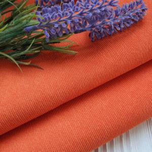 микровельвет оранжевый